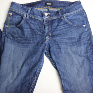 "Hudson Womens Collin Skinny 12"" opening Jeans 31"